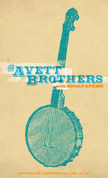 Avett Brothers Poster by goodmorningvoice