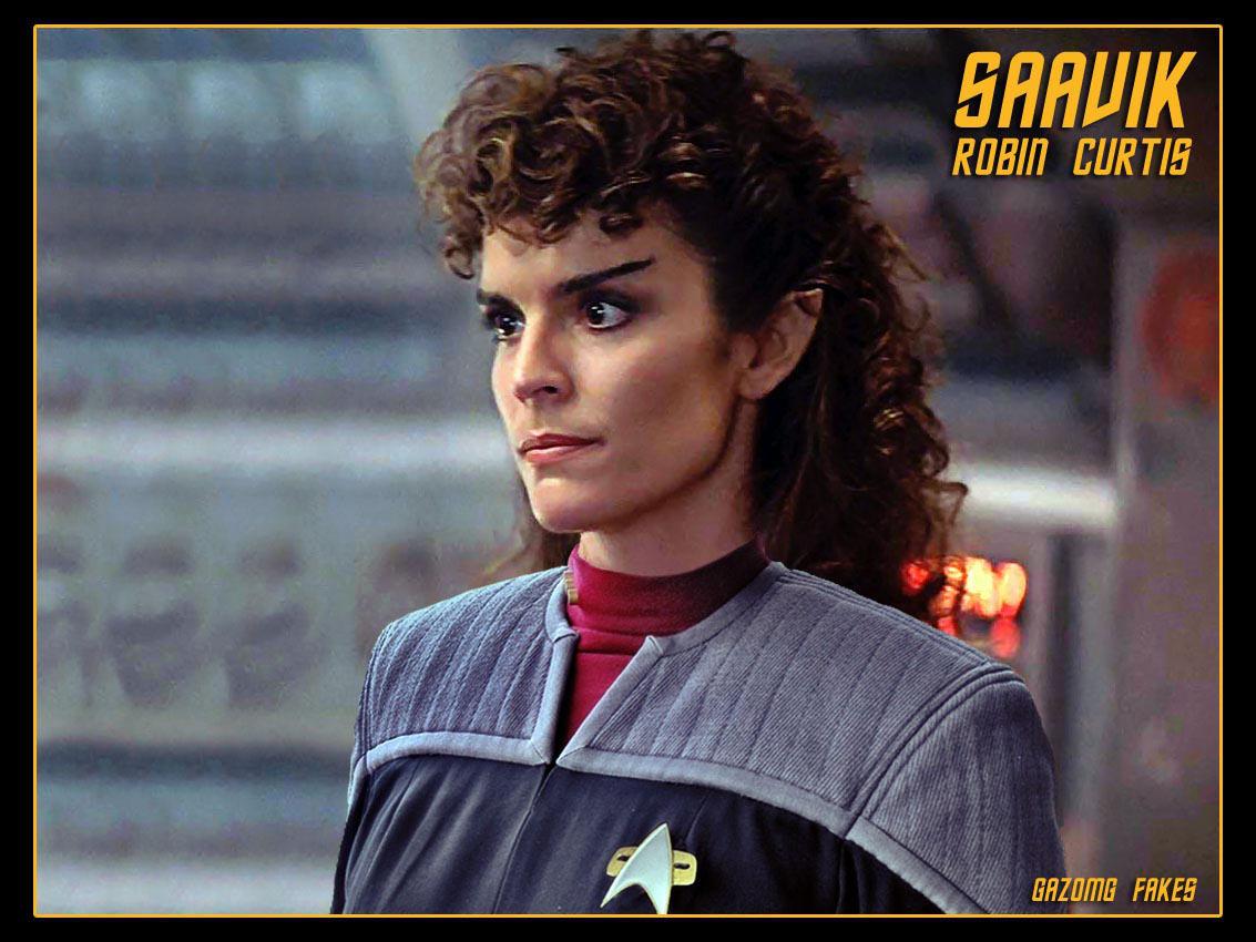 Saavik Star Trek Robin Curtis by gazomg