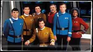 Star Trek Wrath of Khan colored Uniforms by gazomg