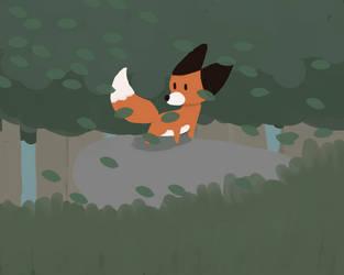 A fox's wonderous world by 3litt0