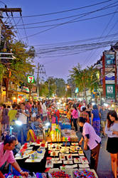 Chiang Mai Night Bazaar by Aishlling