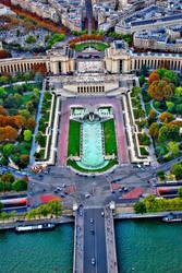 Place du Trocadero, Paris by Aishlling