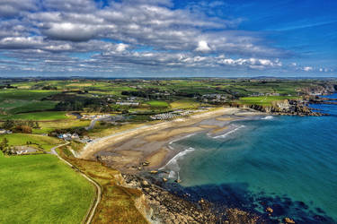 Bunmahon bay by Aishlling