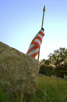 Memorial Flag by Philzang