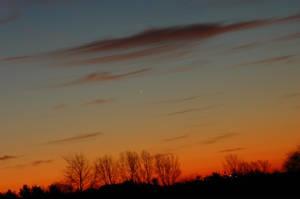 Jupiter and Mars align by Philzang