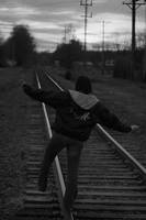 I walk the line. by Philzang