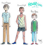 Powerless Characters by M-Nires