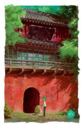 Ghibli-study-spirited-away by M-Nires