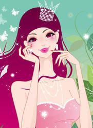 Princess Bubblegum by QueenOfCars