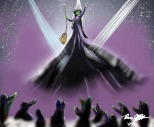 Defying Gravity by The-Paper-Pony
