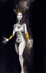 dark queen by khoete