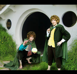 LotR Cosplay Merry Pippin 2 by Murdoc-lein