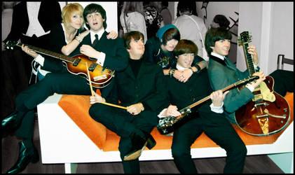 Let's meet the Beatles :D by Murdoc-lein