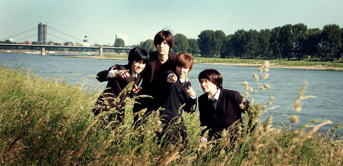 Back in Action - Beatles Cosplay by Murdoc-lein