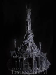 Barad-Dur miniature by LegendariumStudio