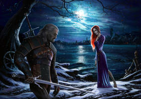 the witcher a night to remember by ManFr0mNowhere