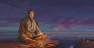 Hermit Obi Wan Kenobi by ManFr0mNowhere