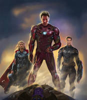 avengers infinity war by ManFr0mNowhere