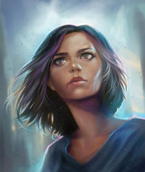 Alita - battle angel by ManFr0mNowhere