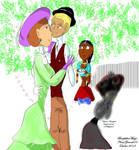 KM Fanart - EmmaXWilliam: happy couple forever by BOUTHILLIERMarjo