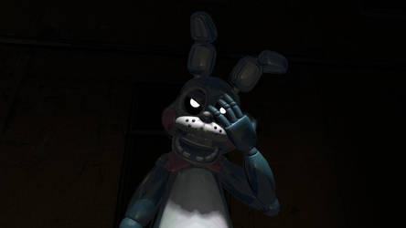 Angry Toy Bonnie by AutKarosti