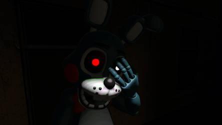 Rage Toy Bonnie? -lighting test by AutKarosti