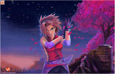 Sakura   Haruno by AVA-core