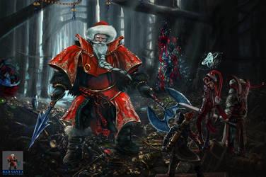Bad Santa Boss A Christmas Raid by AVA-core