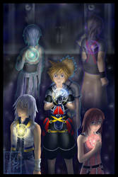 KH: Connected Hearts by AealZX