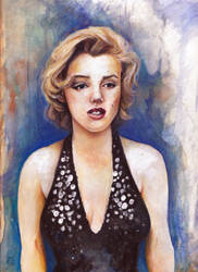 Marylin Monroe by The-girl-in-Mirkwood