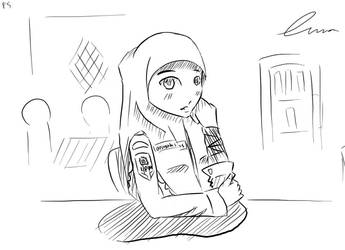 somewhere at my canteen by lunasutisna