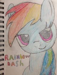 Rainbow dash by Deadman9000