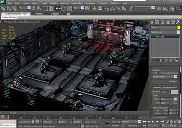 WIP Hangar by EvilChaotic