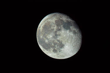Our moon by alkhor