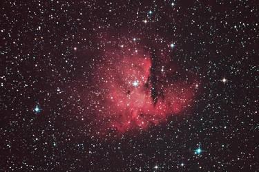 NGC281 pacman nebula by alkhor