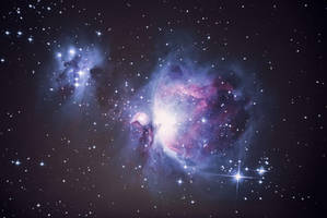 Orion nebula (M42) by alkhor