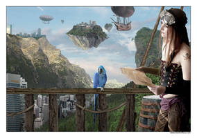 Le perroquet bleu by alkhor