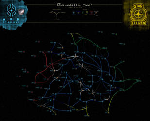 Star Citizen Galactic-Map-V10 by Kamikage86