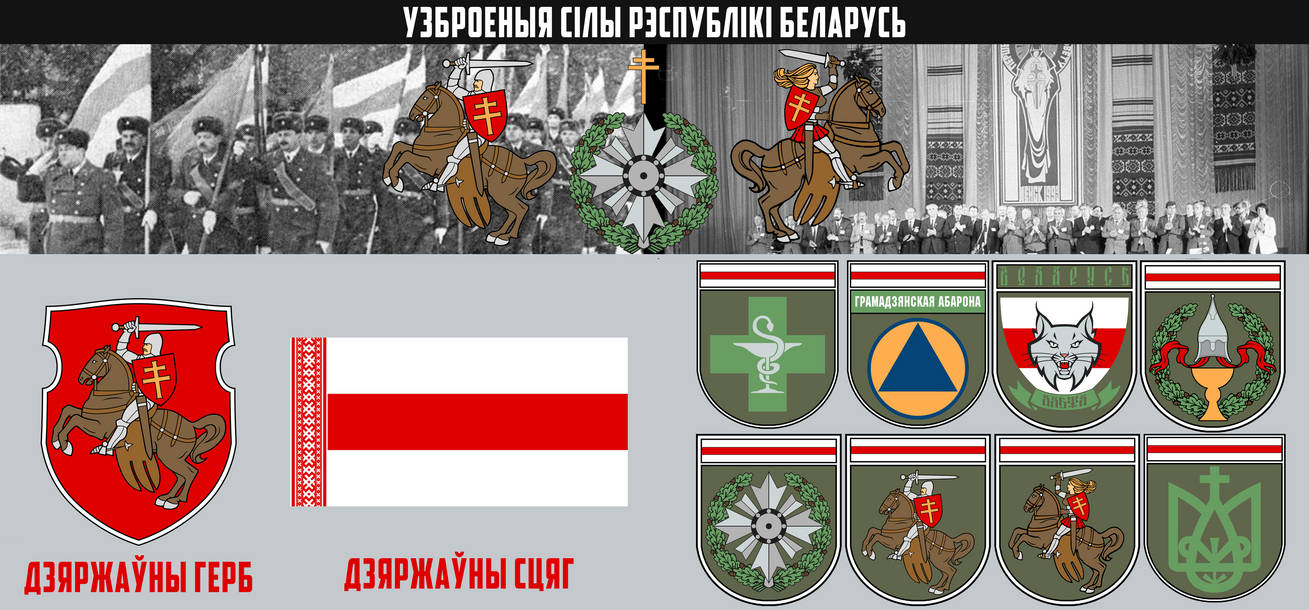 Armed Forces Of The Republic Belarus Modern vers. by Socolov001