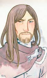 Ned Stark by Sigune