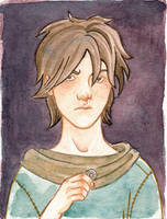 Mini-portrait: Arya Stark by Sigune