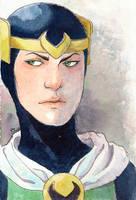 Boy Loki by Sigune