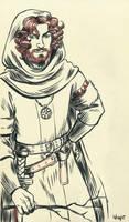 1st Gawain for Inktober 2015 by Sigune