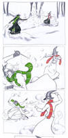 Great Balls of Snow (Part 3 of 4) by Sigune