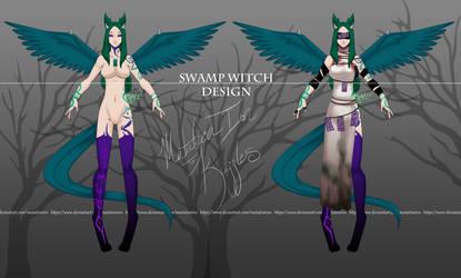 Ouramori Custom - Swamp Witch for Kujjles by MutationIvo