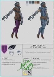 Iron Ram - Eyedra Custom by MutationIvo