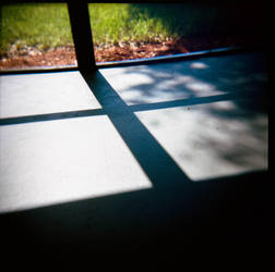 Porch Shadows by Frannister