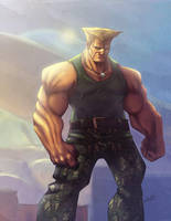 Guile from the course by eL-HiNO