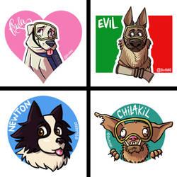 Rescue dogs by eL-HiNO