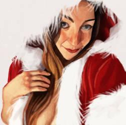 Mrs Santa by eL-HiNO